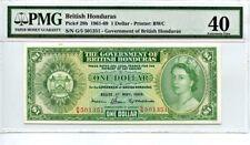 British Honduras: 1961-69 $1 PMG 40 (P-28B) -