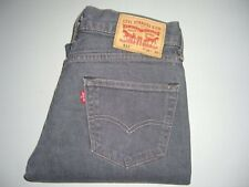 Homme Levi's Strauss & Co 511 Gris Coupe Slim Stretch Denim Jeans W30 L32