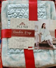 Plush Readers Wrap With Pocket Blanket Snuggie