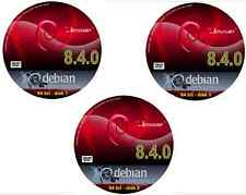 Debian Jessie 8.5.0 Linux O / S + 37.000 COLLI - 64 bit Nessuna licenza richiesta