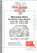 A4 Workshop Manual Mercedes-Benz Petrol 163-ML230 ML320 ML430 164-ML350 ML500