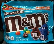 NEW HAZELNUT SPREAD M&M'S CHOCOLATE CANDIES SHARING SIZE 8.30 OZ BAG FREE SHIP