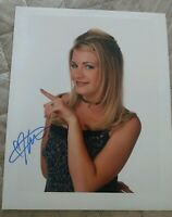 MELISSA JOAN HART SIGNED 8X10 PHOTO SABRINA THE TEENAGE WITCH WCOAPROOF RARE WOW