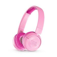 JBL JR300BT Kids Wireless On-Ear Bluetooth Headphones (Pink)