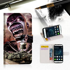 Iron Maiden Wallet TPU Case Cover For Huawei P9 Lite-- A014