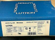 Lutron GRAFIK Eye QS Wireless Controller QSGRJ-4P-TWH