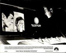 1984 SILVER GELATIN Photo by John Shannon Star Trek 3 Spock William Shatner