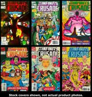 Infinity Crusade, The 1 2 3 4 5 6 Marvel 1993 Complete Set Run Lot 1-6 VF/NM