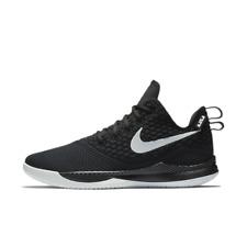 Nike Lebron Witness III Men's Hi Top Trainers AO4433-001 Black UK 10 EU 45 CM 29