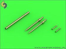 Master 72101 1/72 Metal PZL TS-11 'Iskra'- Pitot Tubes and 23mm gun barrel