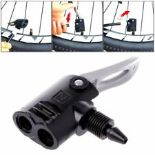 1PC Bicycle Pump Nozzle Hose Adapter black Schrader Valve Pump AccessoriesQ9Q