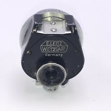 E.LEITZ WETZLAR BLACK UNIVERSAL VIEW FINDER FIT LEICA RANGEFINDER VINTAGE CAMERA