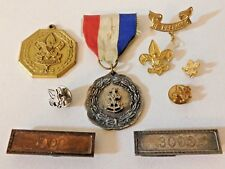 RARE BSA SEA SCOUT SCALLOPED CONTEST MEDAL, FIRST CLASS CONTEST, SERVICE, ETC.