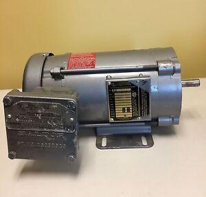 Baldor Electric Motor for Hazardous Locations CL5003A
