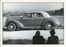 AUTO OPEL ADMIRAL Cabrio Frau am Steuer Photokunst 70er Ja.