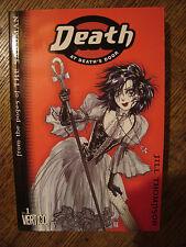 Sandman: Death #1: At Death's Door 1st/1st Edition Vertigo Manga Jill Thompson