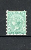 Bahamas 1898 1s blue-green MH