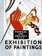 Pubblicità federale ARTE progetto esposizione DI PITTURA fine art print CC240
