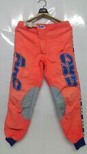 Vintage Motocross AXO 95's Sport Neon Red Pants Size 32