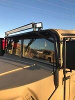 HUMVEE HMMWV HD LED Light Bar Mount M998 m1026 H1 Hummer Military M1123 M1097