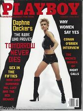 Playboy February 1998 Daphne Deckers Cover Julia Schultz Playmate + MORE