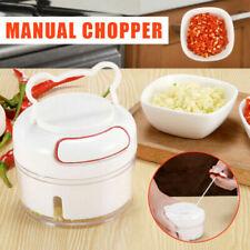 Mini Manual Food Chopper Pull Chopper Crusher String Shredder Speedy Garlic