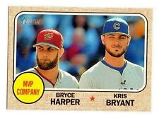 2017 TOPPS HERITAGE COMPLETE YOUR SET PICK 25 CARDS FROM LIST 1-700 SINGLES
