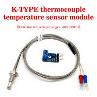 (US) 4 Meter K-type Thermocouple Temperature Sensor Module Kit MAX6675
