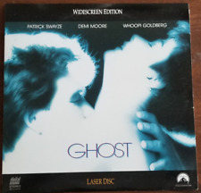 LASERDISC Movie: GHOST - Patrick Swayze, Demi Moore, Whoopi - Collectible