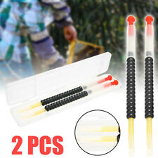2Pcs Plastic Bee Grafting Retractable Beekeeping Tools For Queen Larva Rearing