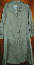 """Womens CXT Raincoat TAN Trench Coat Light Weight Size M P Chest 40"""""""