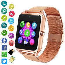 Women Android Smart Watch Camera Fitness Tracker for Samsung HTC LG Motorola ZTE
