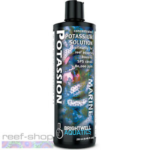Brightwell Aquatics Potassion 250mL SPS Coral Liquid Ionic Potassium Supplement