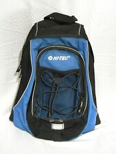 Hi Tech Hydration Backpack Hiking Blue Black Lightweight ~ Bladder not included