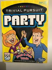 Hasbro TRIVIAL PURSUIT PARTY Fast And Fun Trivia Board Game 3-6 Players Ages 16+