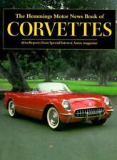 Hemmings Motor Book of Corvettes Sports Car Magazine News 1954 1955 1957 1963-69