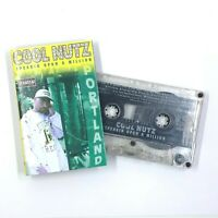 COOL NUTZ Speakin Upon A Million Cassette Tape 1998 Jus Family Records Rap Rare