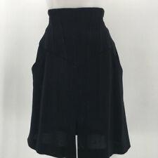 Chanel Black High Waist Skirt Size 10
