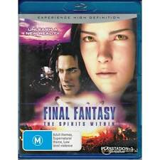 BLU-RAY FINAL FANTASY: THE SPIRITS WITHIN REGION FREE A+B+C NEW NOT SEALED [BN]
