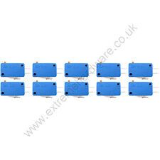 10 x San Star Long Life Responsive Arcade Push Button Microswitches