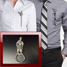 Civil War CP14 Pewter Pin Brooch Drop Hoop Holder Glasses,Pen,Jewellery