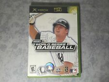 SEGA SPORTS WORLD SERIES BASEBALL - MICROSOFT XBOX ORIGINALE CLASSIC NTSC USA US