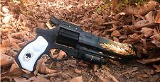 "Destiny Replica Hawkmoon Moonglow Gun Revolver Prop Cosplay Hand Cannon 16"""