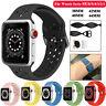 Silikon Sports Ersatz Armband Für Apple Watch Series 6 5 4 3 2 1 38/42MM 40/44MM