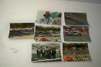 Vintage NASCAR racing photo Richard Petty Harold Kunder crash action photo