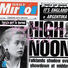 7inch ELVIS COSTELLO Tokyo storm warning - part 1  UK 1986 EX+