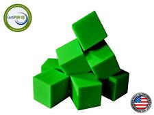 """Foam Pit Cubes 20 pcs. ( Lime Green ) 5""""x5""""x5"""" Flame Retardant Foam Blocks"""