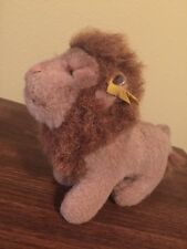 Vintage Steiff Leo the Lion Button Torn Tag Cute!
