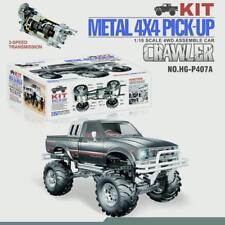 US Stock 1/10 RC Pickup 4*4 Rally Car Series Racing Crawler KIT Chassis Axles BK