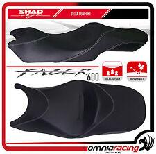 Shad Sella Confort Nera con Cuciture Grigie per Yamaha FZ6 Fazer S2 2004 >